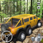 Extreme Offroad Mud Truck Simulator 6x6 Spin Tires icon
