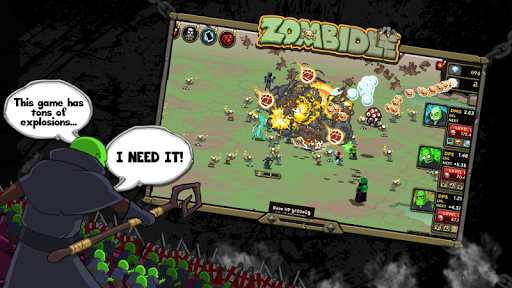 Zombidle pc screenshot 1
