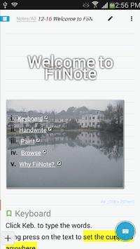 FiiNote, note everything pc screenshot 1