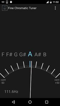 Fine Chromatic Tuner pc screenshot 1