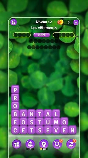Briser des Mots:Jeu de Puzzle les Blocs de Mots PC screenshot 1