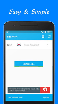 Free VPN by FireVPN pc screenshot 1