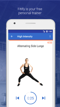 HIIT & Cardio Workout by Fitify pc screenshot 1