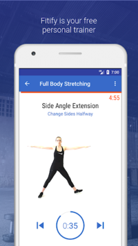 Stretching & Flexibility Routines by Fitify pc screenshot 1