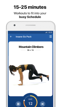 Full body Workout by Fitify pc screenshot 1