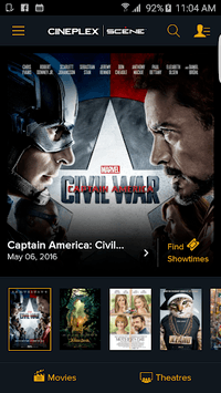 Cineplex Mobile pc screenshot 1