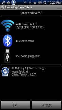 MyPhoneExplorer Client pc screenshot 1