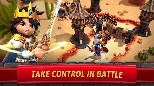 Royal Revolt 2: Tower Defense RPG and War Strategy pc screenshot 1