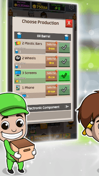Idle Factory Tycoon pc screenshot 1