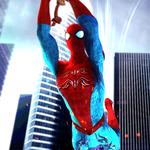 Flying Iron Superhero Spider Mission icon