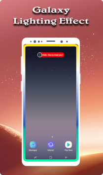 Edge Lighting : Notification, Rounded Corner pc screenshot 2