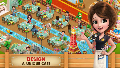 Cooking Country - Design Cafe pc screenshot 1