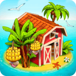 Farm Paradise: Fun Island game for girls and kids for pc logo