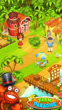 Farm Paradise: Fun Island game for girls and kids pc screenshot 1