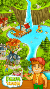 Farm Town: Happy farming Day & food farm game City pc screenshot 1