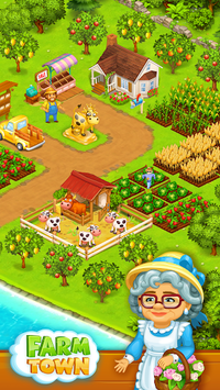 Farm Town: Happy village near small city and town pc screenshot 1