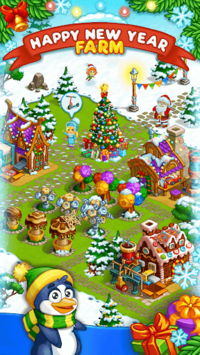 Farm Snow: Happy Christmas Story With Toys & Santa pc screenshot 1