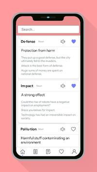 Vocabulary Builder - Learn words & Improve English pc screenshot 1