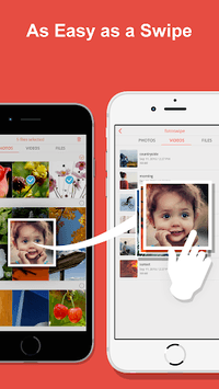 FotoSwipe: File Transfer, Contacts, Photos, Videos pc screenshot 1