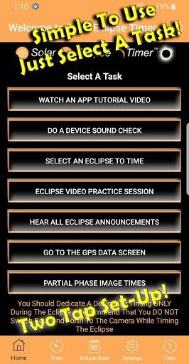 Solar Eclipse Timer PC screenshot 1