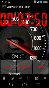 Stopwatch & Timer with Voice Notify pc screenshot 1