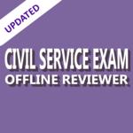 Civil Service Exam Review Offline 2018 icon