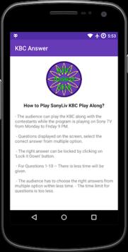 KBC Answer 2018 pc screenshot 1