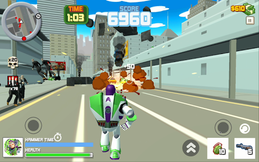 Buzz Lightyear : Toy Action Story Game pc screenshot 1