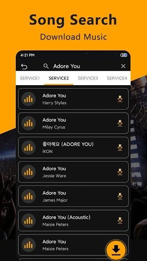 Free Music Downloader & Mp3 Songs Music Download pc screenshot 1