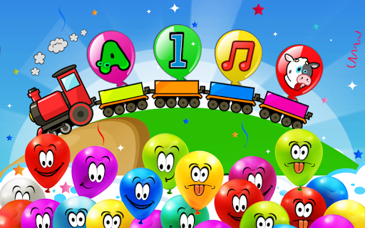 Balloon Pop Kids Learning Game Free for babies 🎈 pc screenshot 1