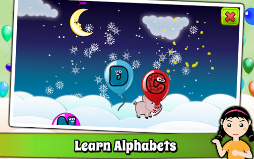 Balloon Pop Kids Learning Game Free for babies 🎈 pc screenshot 2