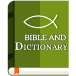 Bible and Dictionary icon