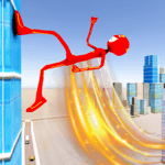 Flash Stickman Rope Hero – Speed Hero Crime City for pc logo
