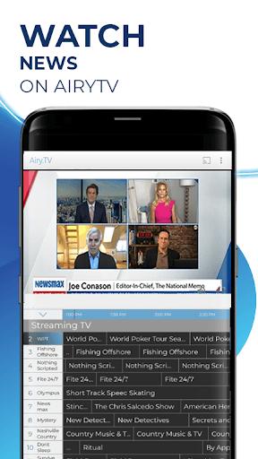Free TV, Free Movies, Entertainment, AiryTV pc screenshot 1