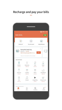 FreeCharge - Recharges, Bill Payments, UPI pc screenshot 2