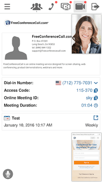 Free Conference Call pc screenshot 2