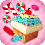Candy Land Craft: Design & Building Game For Girls icon
