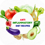 Anti Inflammatory Diet Recipes: Healthy Diet Meal icon