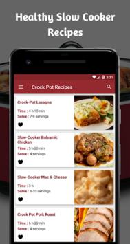Crock Pot Recipes : Tasty Crockpot Recipe App pc screenshot 1