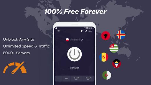 INDIA VPN - Free VPN & Unlimited Secure VPN PC screenshot 3