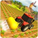 Modern Tractor Farming Machines Simulator icon