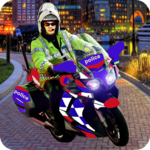 Police Motorcycle Chase icon