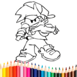Friday Night Funkin Coloring Book icon
