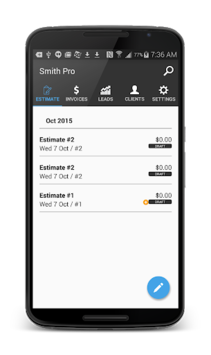 Smith Pro: Invoice & Estimates pc screenshot 2