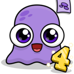 Moy 4 🐙 Virtual Pet Game icon