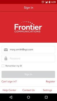 MyFrontier pc screenshot 1