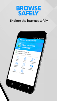 F-Secure Mobile Security pc screenshot 1
