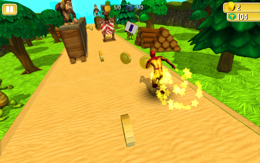 Jungle Run : Spider Adventure pc screenshot 1