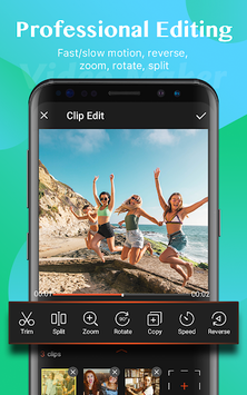 Video Maker of Photos with Music & Video Editor pc screenshot 1