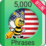 Learn American English - 5000 Phrases icon